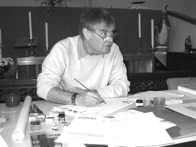 Brian Walker, Calligrapher and Master Penman